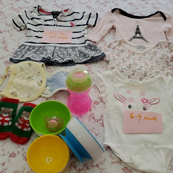 15$ for all- Baby cloth& others